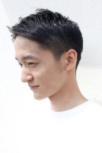 吉祥寺の美容室Rushell Plaisirのメンズモデル